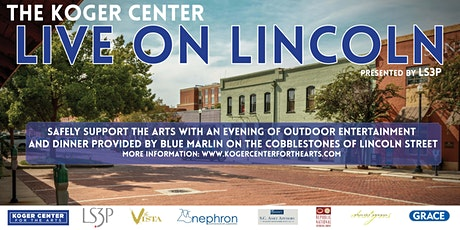 The Koger Center Live on Lincoln 2021 tickets