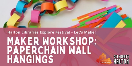 Maker Workshop: Paper Chain Wall Hangings tickets