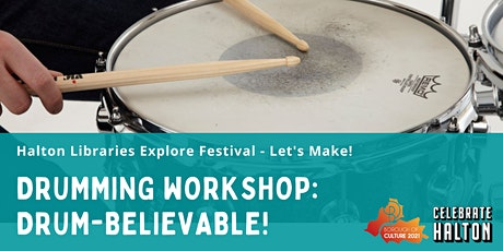 Music Makers: Drum-Believable! tickets