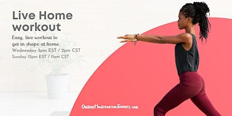 Live Home Workout Brooklyn Meditation tickets