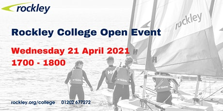 Rockley College Open Event April 2021 tickets