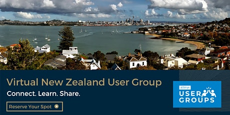 New Zealand Alteryx User Group Q2 2021 Meeting tickets