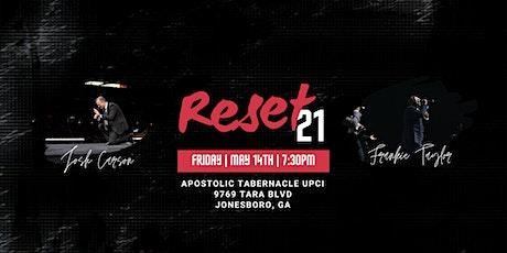 RESET21 tickets