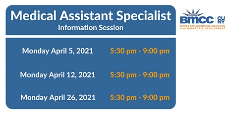 Medical Assistant Specialist Training - Information Session tickets