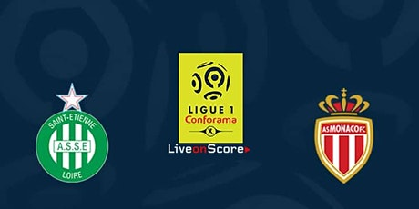 Ligue-1@!! Saint-Étienne - Monaco  E.n direct Live tv 2021 billets