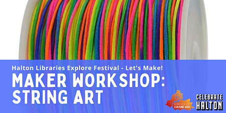 Maker Workshop: String Art tickets