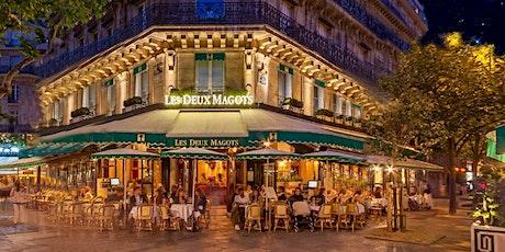 Paris Cafés—heir Stories and Histories tickets