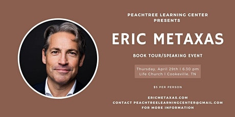 Eric Metaxas Speaking Event/Book Tour tickets