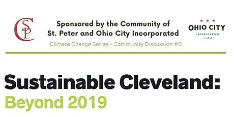 Climate Change Series, Pt. 3: Sustainable Cleveland, Beyond 2019 Discussion tickets