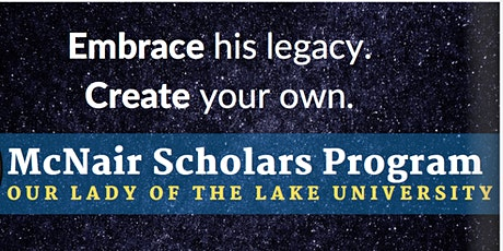 Become a McNair Scholar! Info Session  tickets
