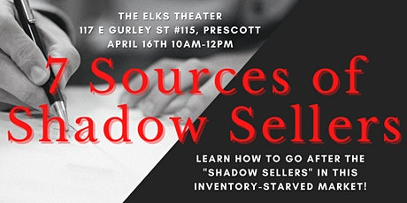 7 Sources of Shadow Sellers tickets