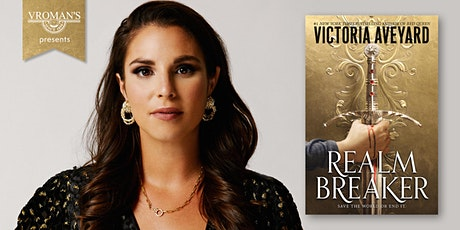 Victoria Aveyard celebrates the launch of Realm Breaker! tickets