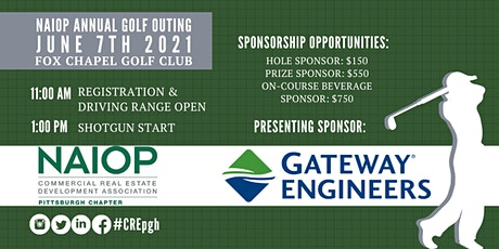 2021 NAIOP Annual Golf Outing tickets
