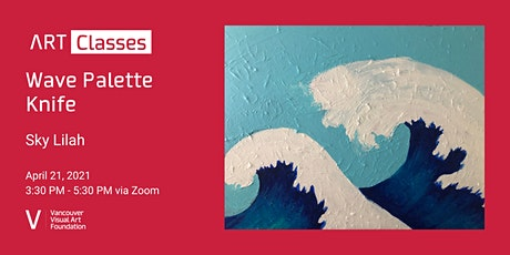 Wave Palette Knife Art Class tickets