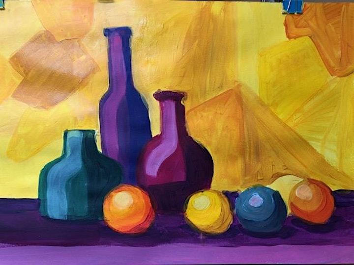Pop Art Bottles - Art Class image