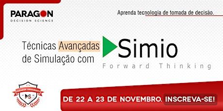 Treinamento Online: Técnicas Avançadas de Simulação em Simio-22 a 23 de Nov ingressos