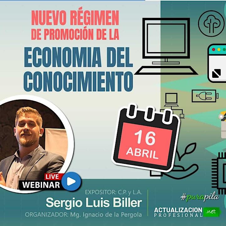 """Imagen de Grabación """"NUEVO RÉGIMEN DE PROMOCIÓN DE LA ECON DEL CONOCIMIENTO"""""""