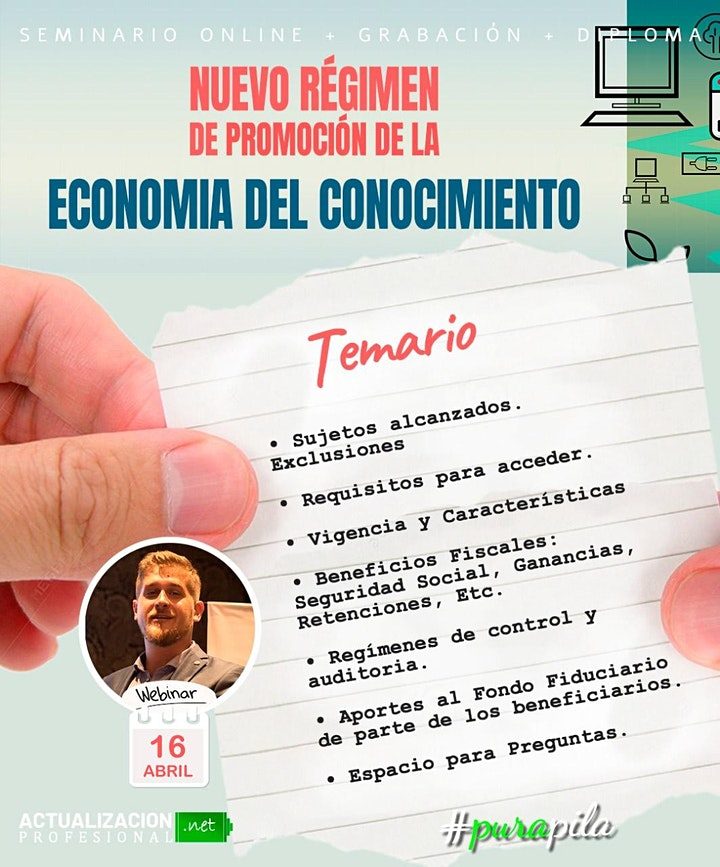 Imagen de Grab NUEVO RÉGIMEN DE PROMOCIÓN DE LA ECONOMIA DEL CONOCIMIENTO