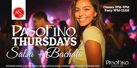 PASOFino Thursdays: Salsa & Bachata Classes & Dance tickets