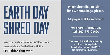 Earth Day Shred Day Event tickets