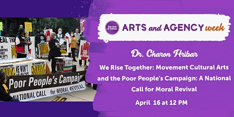 The Poor People's Campaign: We Rise Together tickets