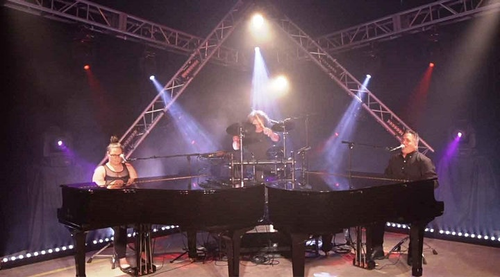 Dueling Pianos Virtual Event image
