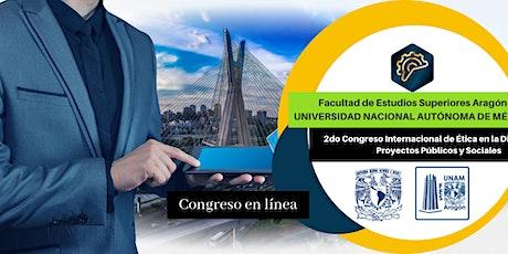 2do. Congreso Internacional en Evaluación y Dirección Ética de Proyectos Pú entradas