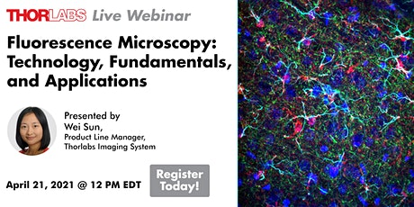 Fluorescence Microscopy: Technology, Fundamentals, and Applications tickets