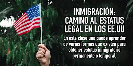 Inmigración: camino al estatus legal en los EE.UU. boletos