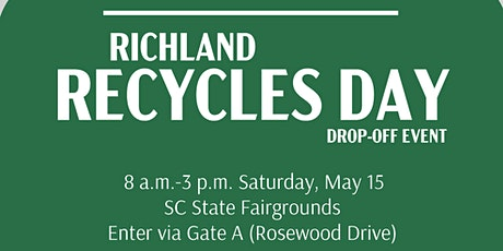 Richland Recycles Day Drop-off Event tickets