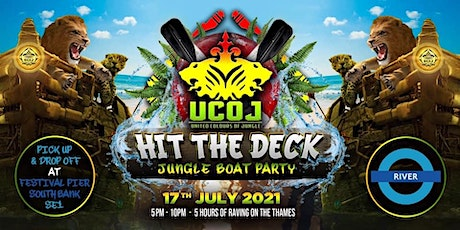 "UNITED COLOURS OF JUNGLE - HIT THE DECK ""SUMMER BOAT PARTY"" tickets"
