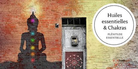Les huiles essentielles et les chakras billets