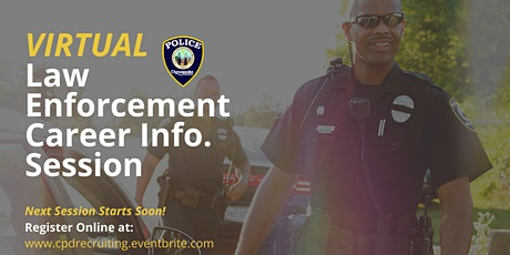 Virtual Law Enforcement Career Informational Session tickets