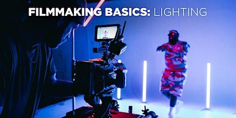 Filmmaking Basics: Lighting w/ Mat Marrash (In-Person) tickets