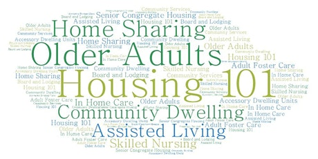 Housing and Older Adults - The Continuum of Options tickets