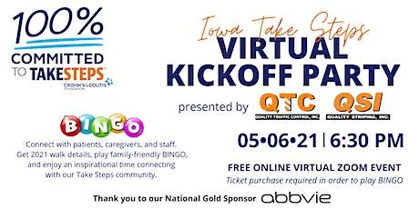Iowa Take Steps Kickoff Party presented by QTC-QSI tickets