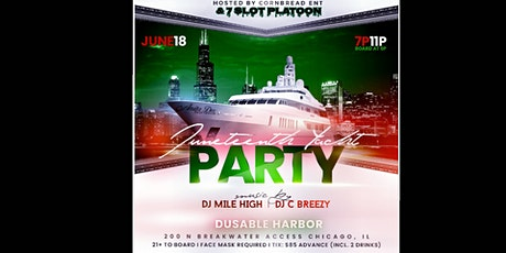 Juneteenth Jeep Weekend Yacht Party tickets