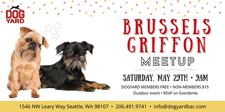 Brussels Griffon Meetup at the Dog Yard tickets