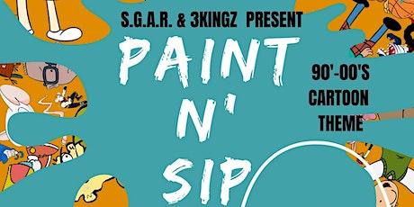 Paint n Sip (90s-00s Cartoon) tickets