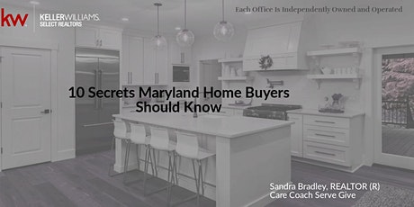 10 Secrets Maryland Home Buyers Should Know tickets