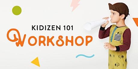 Kidizen 101 Workshop: Basic Selling FAQ tickets