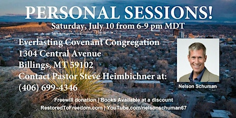 Personal Sessions in Billings, MT tickets