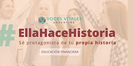 Ella Hace Historia | Programa Facebook® Voces Vitales Argentina entradas