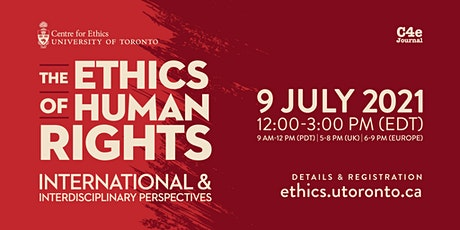 The Ethics of Human Rights tickets