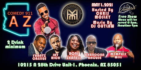 Comedy 911, AZ! tickets