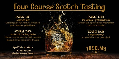 Four Course Scotch Tasting tickets