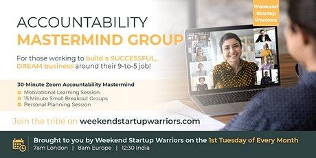 Accountability Mastermind Group - Morning tickets