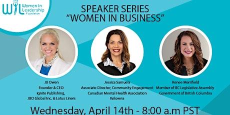 Speaker Series - Women in Business tickets