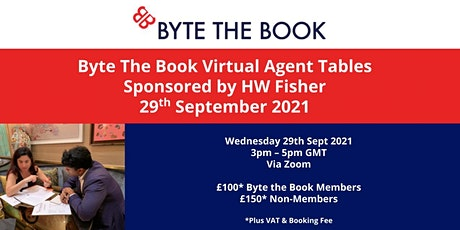 Agent Tables (September 2021) Sponsored by HW Fisher tickets