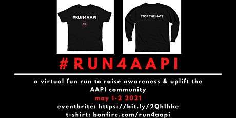 #Run4AAPI Virtual Run tickets